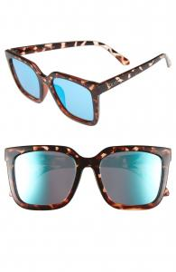 Genesis 55mm Square Sunglasses