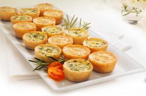 Nancy's Lorraine/Florentine Petite Quiche Variety Pack 32 ct Box