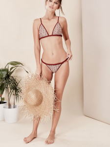 For Love & Lemons 2017 Swim Collection - SAMBA BRAIDED TINY TOP