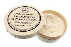 Taylor of Old Bond Street Sandalwood Shaving Cream, 5.3-Ounce