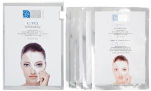 Global Beauty Care Retinol Treatment Spa Masks (Set of 5)