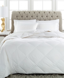 Charter Club Vail Level 1 European White Down Comforters, Extra Light Warmth Hypoallergenic UltraClean Down