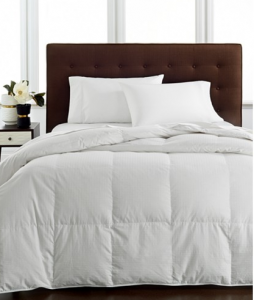 Hotel Collection Light Weight Siberian White Down Comforters, Hypoallergenic UltraClean Down