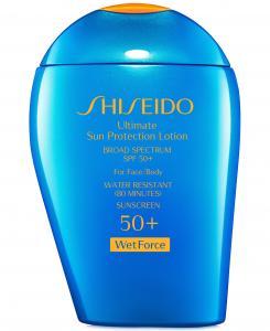 Shiseido Ultimate Sun Protection Lotion SPF 50+ WetForce
