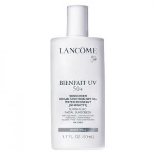 Lancome Bienfait UV SPF 50+ Super Fluid Facial Sunscreen, 1.7 oz