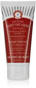 First Aid Beauty Skin Rescue Deep Cleanser with Red Clay - 4.7oz tube