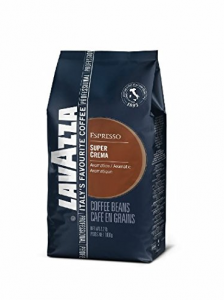 Lavazza Super Crema Espresso - Whole Bean Coffee