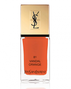 YVES SAINT LAURENT 'La Laque Couture' in Vandal Orange