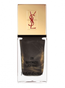 YVES SAINT LAURENT La Laque Couture in Bronze Aztec