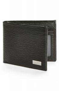 SALVATORE FERRAGAMO Stamped Calf Wallet