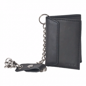 Levi's Black Trifold Wallet
