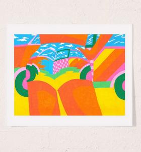 Annu Kilpelainen Bass Art Print