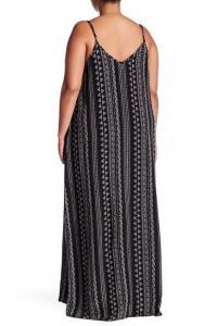 Stony Sleeveless Printed Maxi Dress