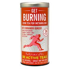 Get Burning- Herb Tea for Metabolism
