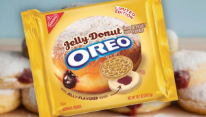 New Limited Edition Jelly Donut Oreo Cookies Have Arrived