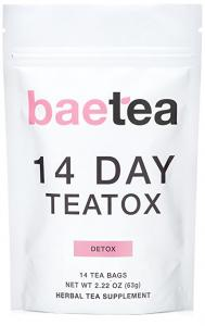 Baetea 14 Day Teatox Detox Herbal Tea