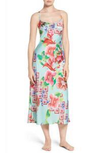 Star Blossom Satin Nightgown