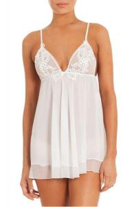 Chiffon Chemise In Bloom By Jonquil