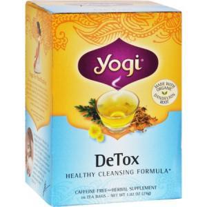 Yogi Detox Herbal Tea Caffeine Free