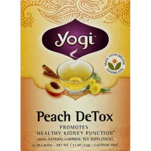 Yogi Peach DeTox Herbal Tea Bags
