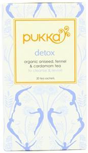 Pukka Detox Herb Tea Organic Aniseed Fennel & Cardamom