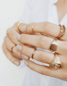 Chic Rings That Goes With Pretty Much Everything