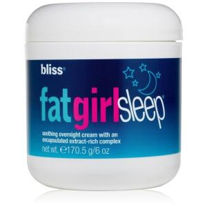 Bliss Fat Girl Slim Sleep Smoothing Overnight Cream