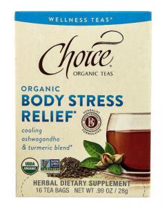Choice Organic Body Stress Relief Tea