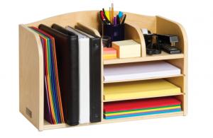 Birch Oversized Desk Organizer
