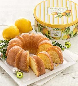 Miss Grace Lemon Cake with Gift Tin