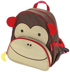 $12 Skip Hop Zoo Toddler Kids Insulated Backpack Marshall Monkey Boy, 12 inches, Brown (Was $20, 40% OFF)