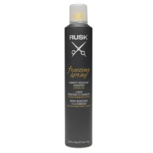 Rusk Freezing Spray Humidity-Resistant Hairspray, Extreme Hold