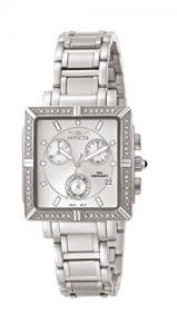 $89.99 (Orig. $95) Invicta Women's 5377 Angel Diamond-Accented Stainless Steel Watch