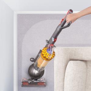 50% Off Dyson Ball Multi Floor Bagless Upright Vacuum - Iron/Yellow @Best Buy
