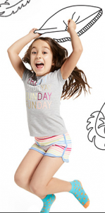 Crazy 8: $3.88 Shorts, $3.88 Leggings, $2.88 Tees, $8.88 PJs Plus Free Shipping (No Min. Purchase Required)