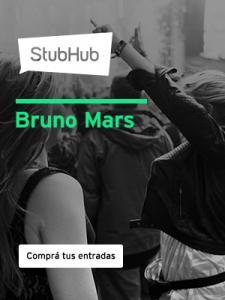StubHub Argentina Bruno-Mars